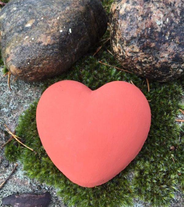Ett hjärta i betong